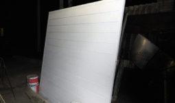 Porton de madera blanco. Listo para instalar